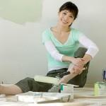 Очищение поверхностей перед побелкой и покраской