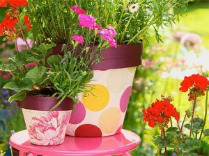 цветочные горшки и кашпо - tsvetochnye gorshki i kashpo