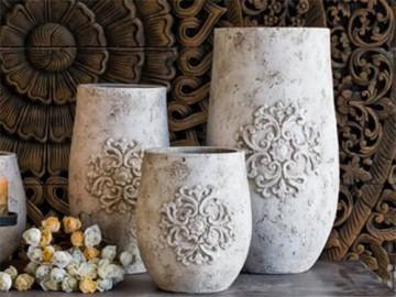 неглазурованные керамические цветочные горшки и кашпо из шамота - neglazurovannye keramicheskie tsvetochnye gorshki i kashpo iz shamota