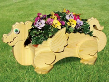 деревянное кашпо для цветов - derevyannoe kashpo dlya tsvetov