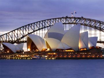 Сиднейский оперный театр - Sydneyskiy opernyi teatr