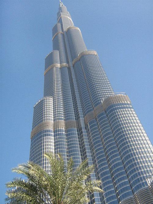 башня Бурдж-Халифа - bashnya Burj Khalifa