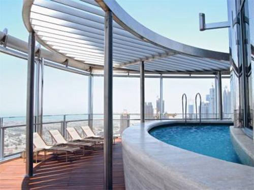Бурдж-Халифа, бассейн - Burj Khalifa, basseyn