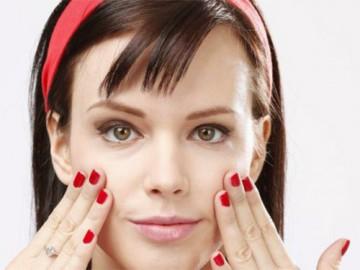 массаж похлопыванием для лица