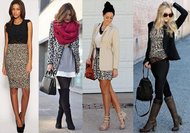 леопардовый узор: с чем носить