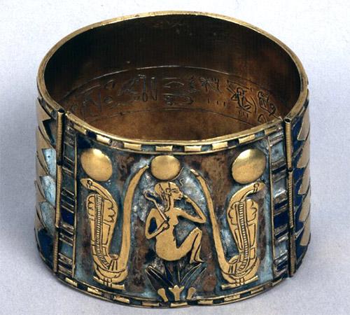 браслет, Древний Египет