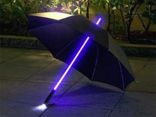 зонт с лед-подсветкой