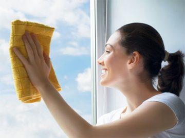 как мыть окна, стекла, зеркала